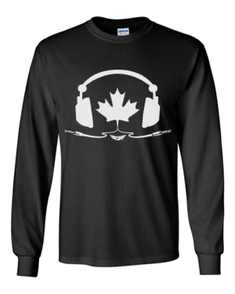 Tune In Canada - Long Sleeve - Black
