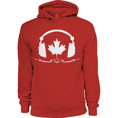 TUNE IN CANADA - HOODY - RED
