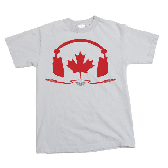TUNE IN CANADA - MENS T-Shirt - WHITE