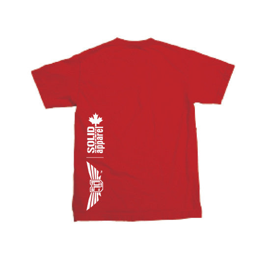 TUNE IN CANADA - MENS T-Shirt - RED