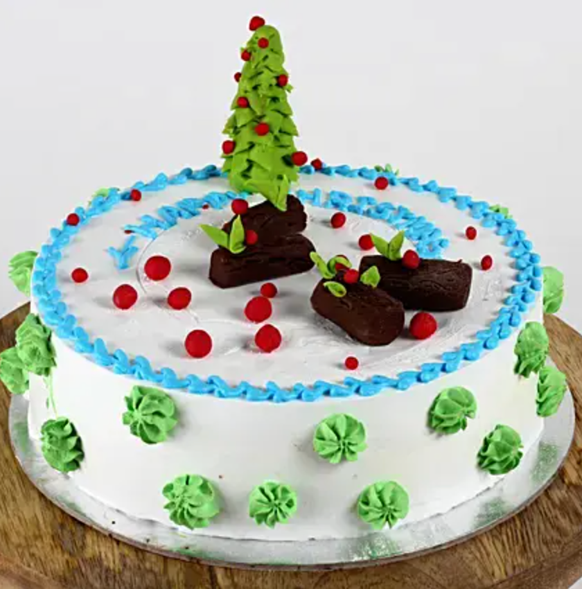 Christmas Special - Tree Theme Cake