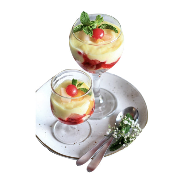 Fruit Custard Triffle