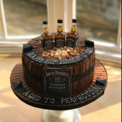 Designer Cake- Jack Daniel Cake Design (24 hrs advance notice required)