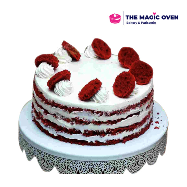 Unveiled Red Velvet Cake