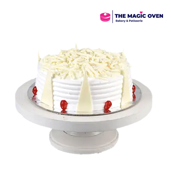 Decadent White Forest Cake