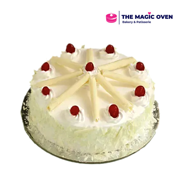 White Forest Cheery Cake