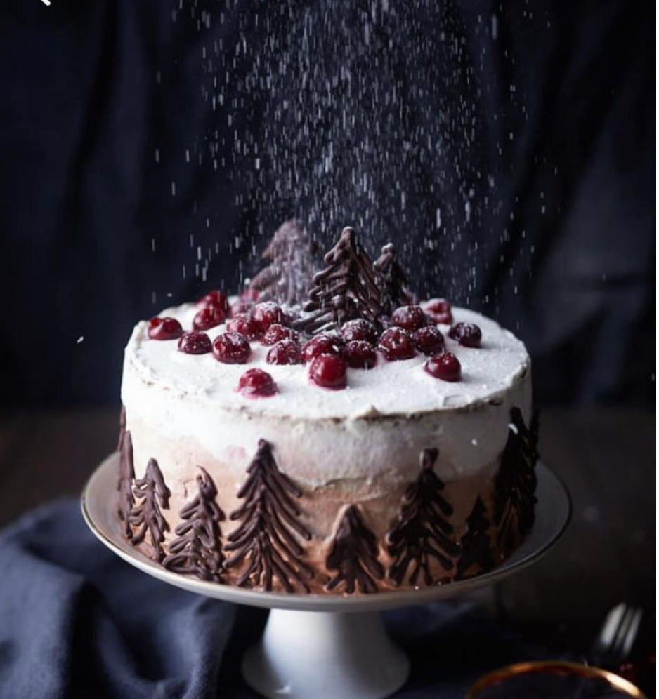 Christmas Special Black forest Cake