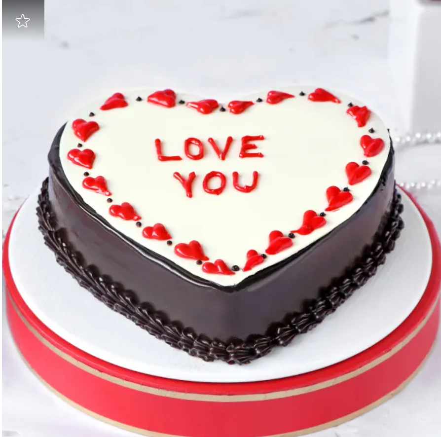 Valentine Special- Cute Proposal Cake