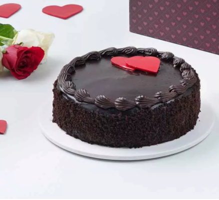 Valentine Special- Truffle of Love Cake