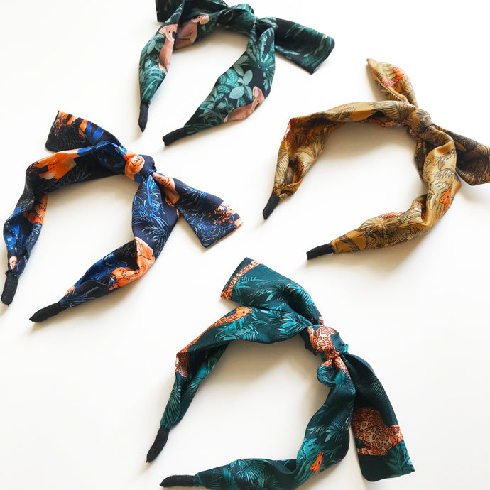 Our New Silk Headbands