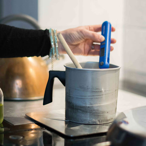 Candle Making Process - Temperature Checking