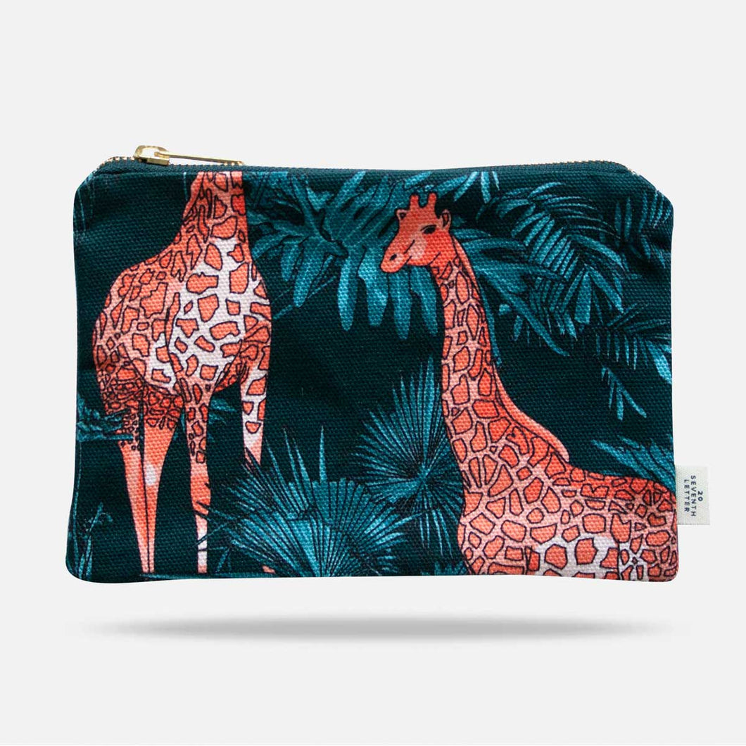 Giraffe Make Up Bag