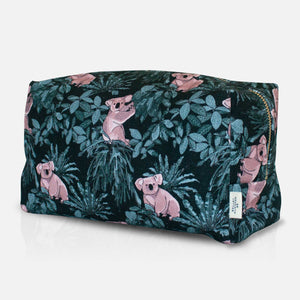 Koala Wash Bag Side Angle with Label