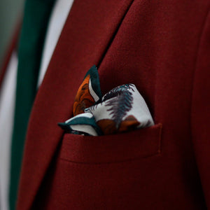 Bear Pocket Square