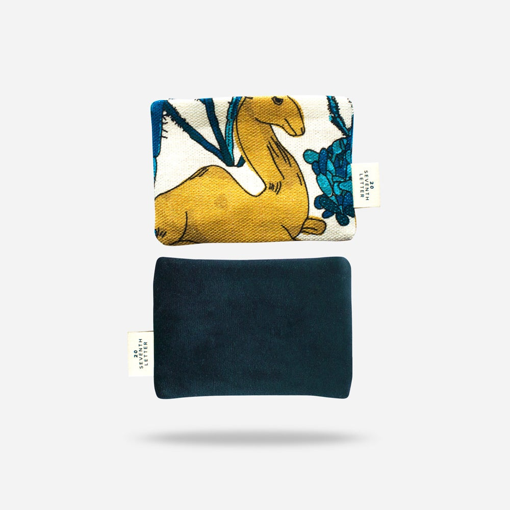 Velvet Camel Card Holder