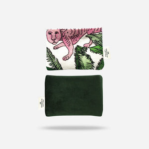 Velvet Tiger Card Holder