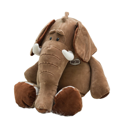 peluche-Elephant-Marron-Mathieu