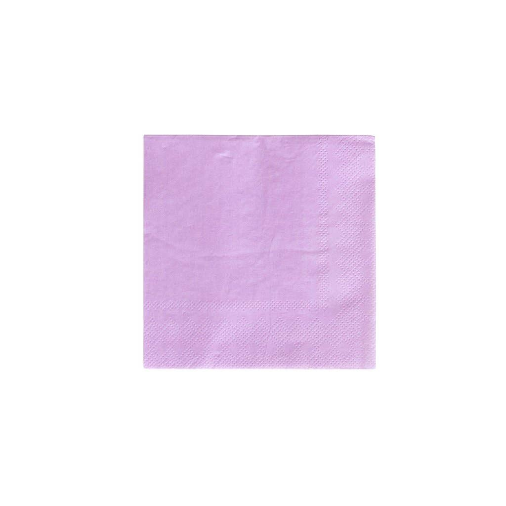 Lilac Cocktail Napkins