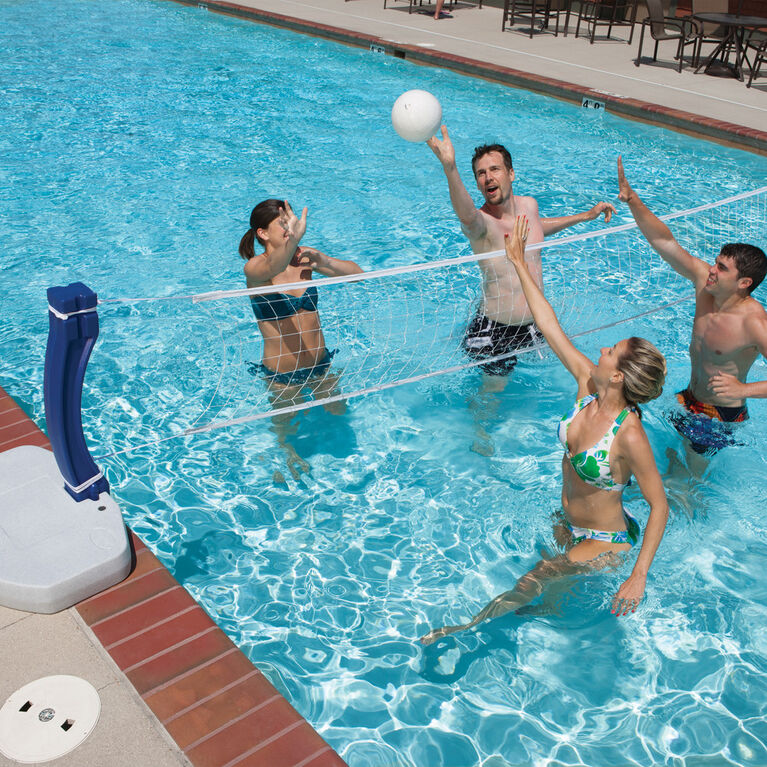 Poolside Volleyball Game (SwimWays)