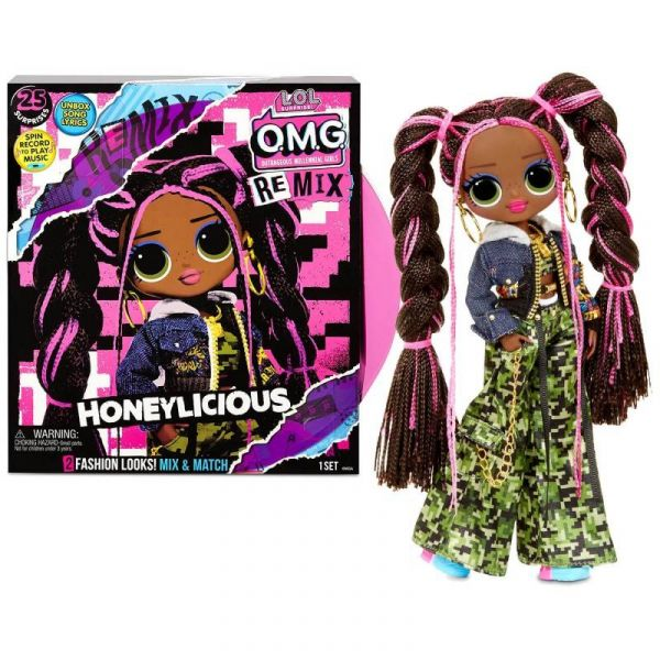 L.O.L. Surprise! O.M.G. Remix fashion doll - Honeylicious