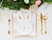 "Load image into Gallery viewer, 9"" Bunny Plate"