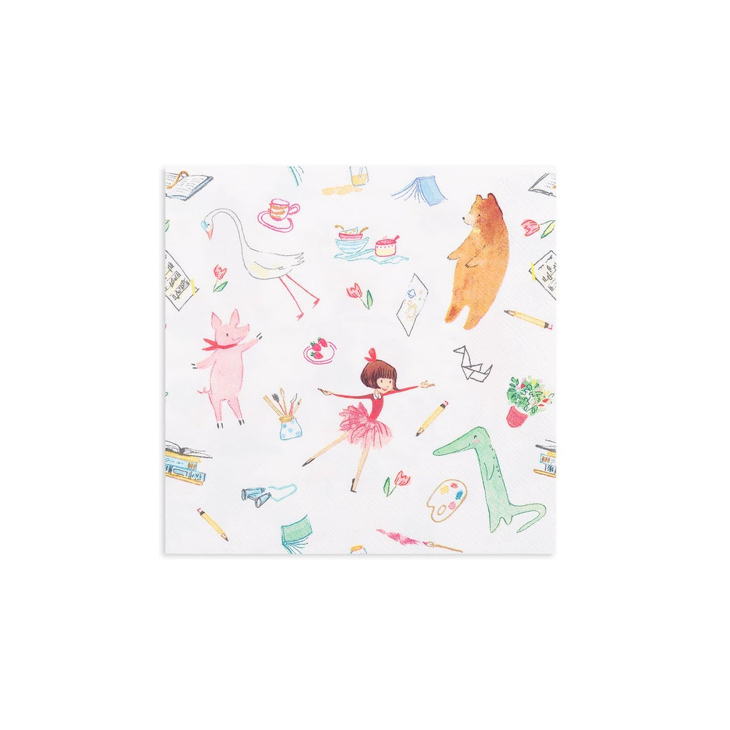 Lola Dutch Lola & Friends Large Napkins