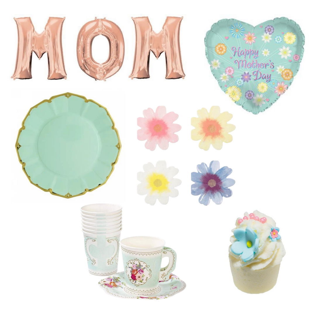 Mother's Day Mint Tea Party Box