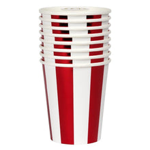 Load image into Gallery viewer, Shiny Red Stripe Cup