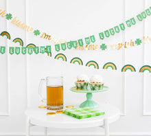 Load image into Gallery viewer, St. Patrick's Day Mini Banner Set