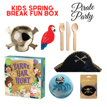 Load image into Gallery viewer, Kids Spring Break Fun Box Pirate Party