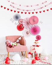 Load image into Gallery viewer, Valentine XOXO Mini Banner Set