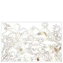 Load image into Gallery viewer, Meri Meri Dinosaur Kingdom Colouring Poster