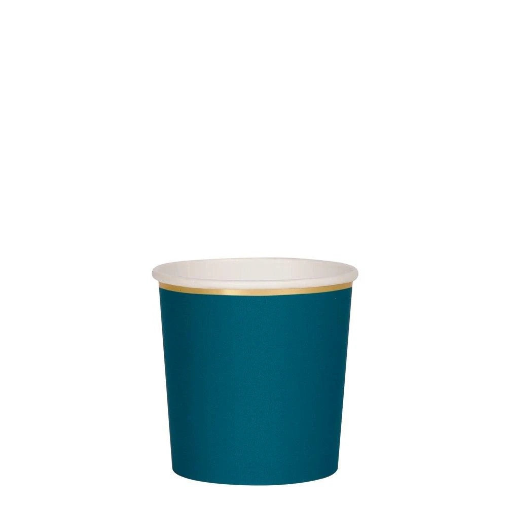 Small Dark Teal Cup