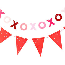 Load image into Gallery viewer, Valentine XOXO & Pennant Banner