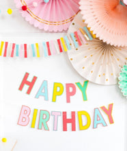 Load image into Gallery viewer, Bright and Happy Birthday Box with Your Own Choice of Tableware