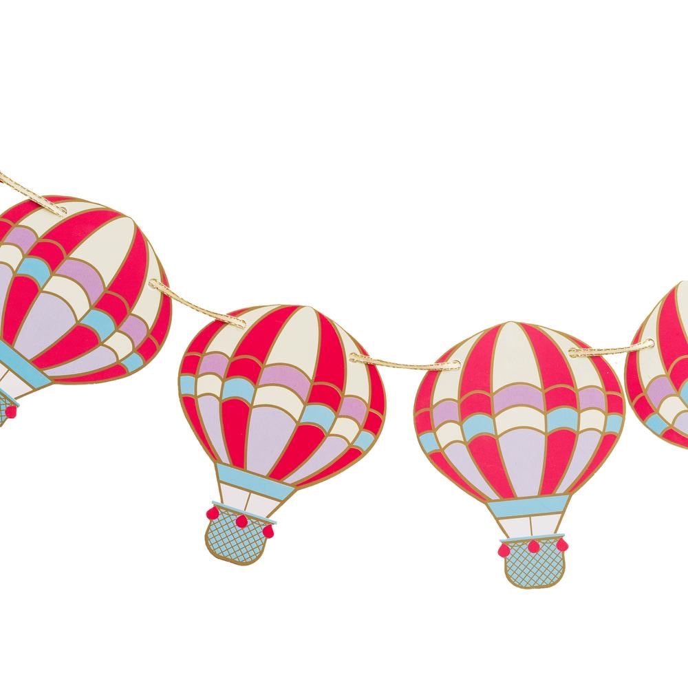 Up, Up & Away Hot Air Balloon Garland