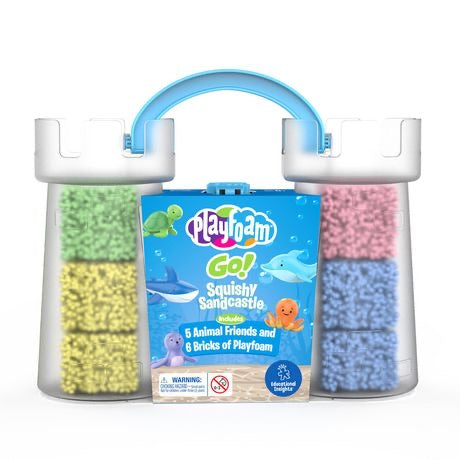 Educational Insights - Playfoam® GO! Squishy Sandcastle