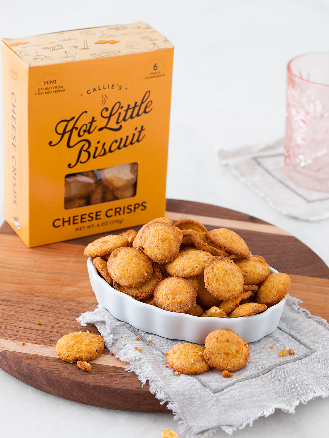 CALLIE'S BISCUITS- CHEESE CRISPS