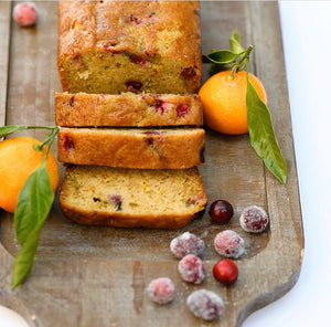 Holiday Gluten-Free Cranberry Orange Zucchini Bread by The Blue Root- 12/23 delivery