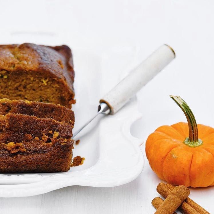 Pumpkin Zucchini Bread by The Blue Root