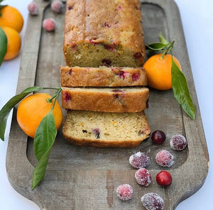 Holiday Cranberry Orange Zucchini Bread by The Blue Root- 12/23 Delivery