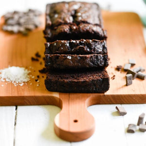 Gluten Free Chocolate Zucchini Bread by The Blue Root