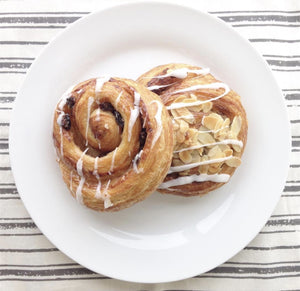 Cinnamon or Pecan Almond Roll(1) by Saveurs Du Monde