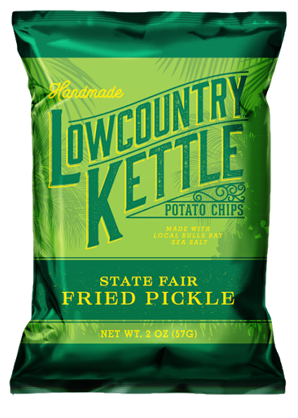 State Fair Fried Pickle Low Country Kettle Potato Chips