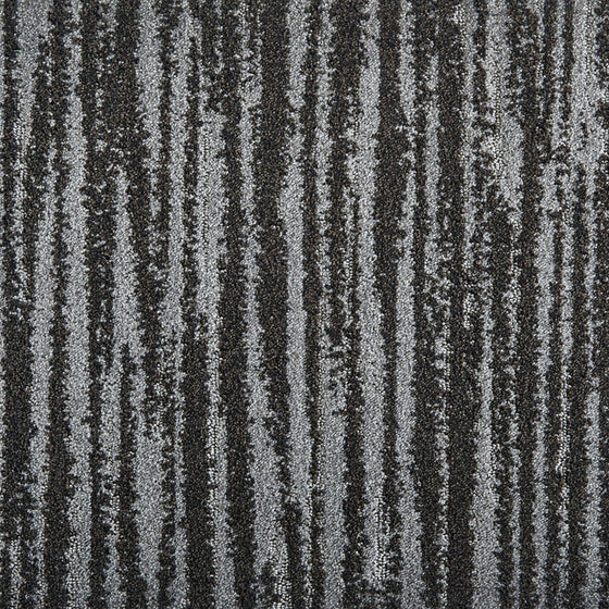 frequency area rug in colour black stone