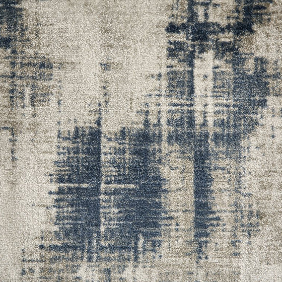 regent area rug in colour marine