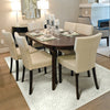 sphinx area rug dining room in colour alabaster