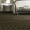 amherst area rug in room in colour stout