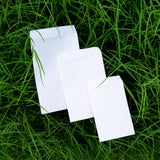 Eco-friendly Plantable Mix Vegetable Seed Paper cards with Envelopes set of 200 pcs