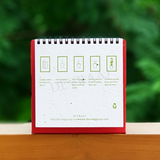 Plantable Seed Paper Calendars